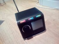 Pixie colour touchscreen dab radio (new in box )