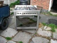 for swap indesit range/gas/electric cooker