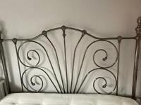 King Size Metal Chrome Bed Frame