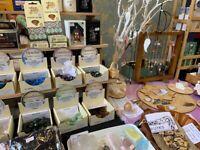 Crystals Pop Up Shop at Hulme Hall Port Sunlight