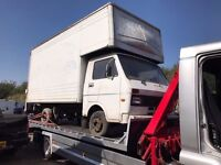 1983 Volkswagen LT Luton, located in Gravesend Kent, non runner, has no seats, any questions give u