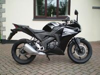 honda cbr 125 2012 low mileage excellent condition p/x possible