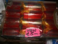 8 LUXURY CHRISTMAS CRACKERS ** WERE £15 NOW £5 - CLACTON - CO15