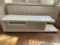 TV unit in white from Dwell