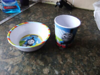 Little Thomas Cup and Bowl