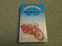 HARDBACK HANDBOOK GUIDE - MOTORCYCLES
