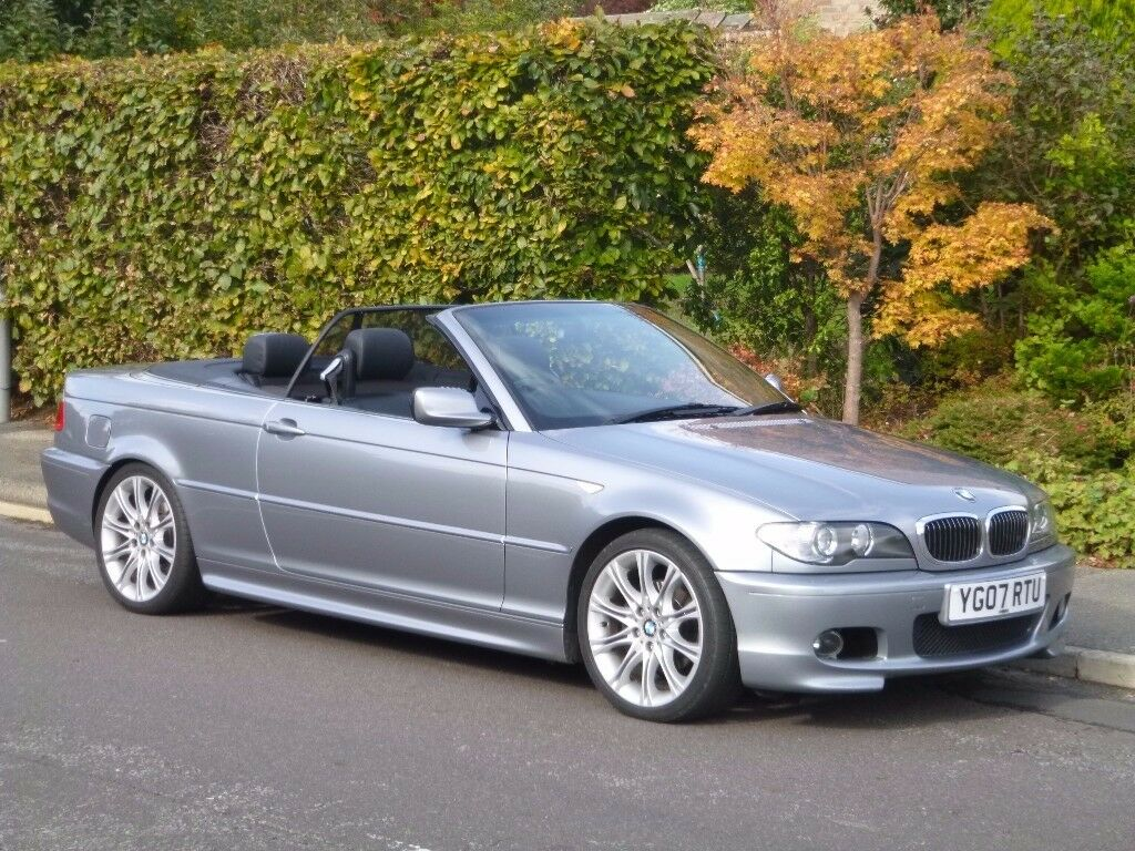 2007 (07) BMW 3 Series E46 320CI 2.2 M-Sport Convertible : PRICE REDUCED, Must sell.