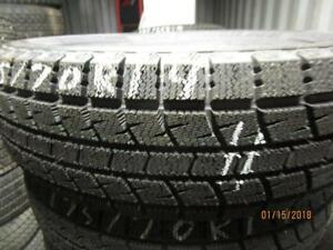 175/70R14 2 ONLY NEW KUMHO WINTER TIRES