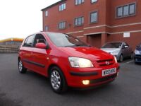 Hyundai Getz 1.3 CDX 5dr Automatic 13 STAMPS F.S.H. LADY OWNED cheap car 2003