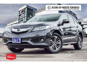 2017 Acura RDX Elite at Accident Free| Acura Certified Included|