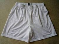 Prostar sports shorts, white, size XL
