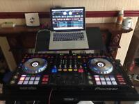 Pioneer ddj-sz excellent condition beats pro headphones , stand and MacBook Pro full set up