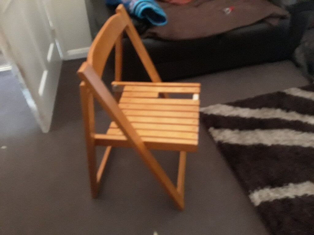Fold Up Table And Chairs Collection Only