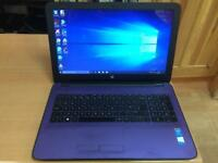HP HD 8GB Ram Fast Like New Slim Laptop Massive 750GB,Window10,Microsoft office,Ready to use
