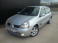 2006 (56) Renault Clio 1.2 Campus Sport 3dr Full MOT, May Px/Swap