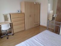 Bed in the room to share with young professional guy.4-6 mint Bethnal Green,Whitechapel,Shoreditch