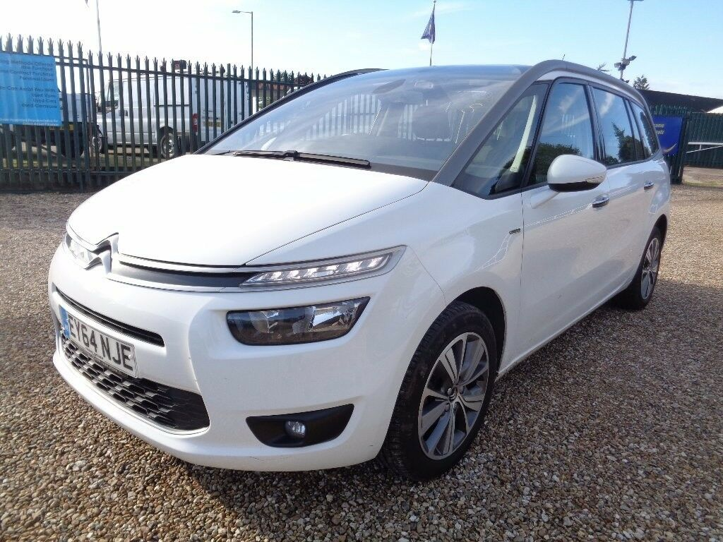 citroen grand c4 picasso 1 6 e hdi airdream exclusive 5dr white 2014 in axminster devon. Black Bedroom Furniture Sets. Home Design Ideas