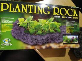Planting Rock for aquariums, fish tank, ornament, decoration