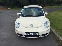 Volkswagen convertable beetle 2.0 ltr petrol.