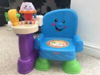 Fisher price laugh and learn chair