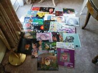 LARGE COLLECTION 32 RECORD VINYL LPS INDIAN MUSIC 1960S / 1970S FILMS ETC IN FANTASTIC CONDITION