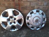 Vauxhall wheel trims, rims, hub caps