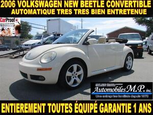 2006 Volkswagen New Beetle CONVERTIBLE IMPECCAVLE GARANTIE 1 ANS