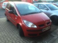 2007 Mitsubishi Colt 1.1 5DR Red - Very Good Condition! MOT March 2017 / 2 Owners from new!