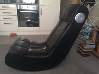 Sony Play Station 3, gaming chair X Rocker , 28 games and play station move accessories