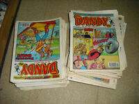 Dandy comic collection.