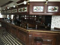 Full contents of pub fixtures and fittings available