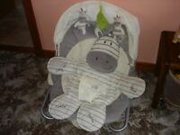 Toys R Us baby bouncer soft chair