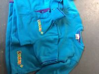 Beavers sweatshirt and polo shirt