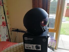 Brand new helmet never worn still in box with carry bag bought for 69.99 sell 45
