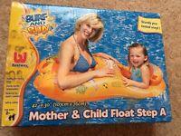 Parent & child swimming float