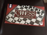 Foldable Chess Board Game