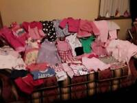 Bundle of baby girls summer clothes 12-18 months