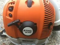 Stihl backpack leaf blower br500