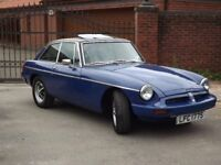 MGB GT (Taxed And Mot'd) (Tax And Mot Exempt From Next Year)