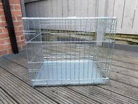 Small dog/puppy cage for sale - excellent condition