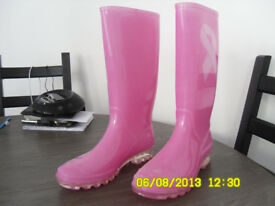Wellies (Pink)