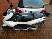 PCX 125CC SWAPS FOR GEARED 125CC