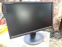"Computer monitor widescreen LG Flatron 22"""