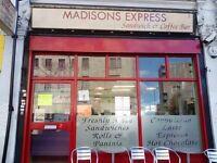 Established Cafe And Sandwich Bar Business For Sale