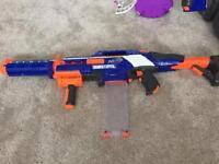 Large bundle of Nerf guns