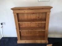 Wooden shelve unit very strong originally paid one hundred and fifty pounds