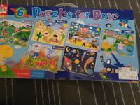 Puzzles for boys -new