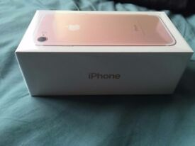 iPhone 7 128GB Rose Gold - Brand New Sealed - Unlocked