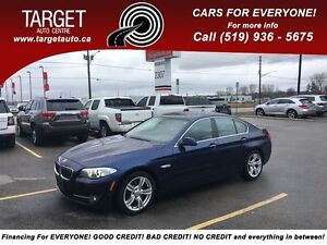 2011 BMW 5 Series 535i, Super Clean, Loaded; Leather, Roof, Allo