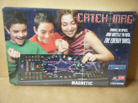 (CATCH MAG) Travel in Space magnetic game. Brand new and sealed.